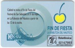 SPAIN B-451 Chip Telefonica - Used - Espagne