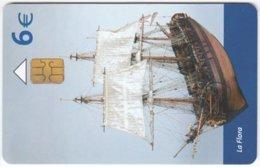 SPAIN B-514 Chip Telefonica - Model, Historic Ship - Used - Espagne
