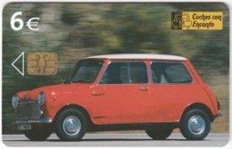 SPAIN B-517 Chip Telefonica - Traffic, Vintage Car - Used - Espagne