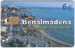 SPAIN B-520 Chip Telefonica - Landscape, Coast - Used - Espagne