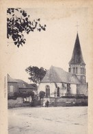 Seine-Maritime - Flocques - L'Eglise Et Route De Mesnil-Val - Autres Communes