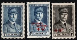 Algeria Stamps. 1941-1942 Marshal Petain. MH - Algerien (1924-1962)