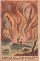 Carte Postale Couleur—CPSM—Bambi Et Ses Amis—N° 24—Walt Disney - Cinema