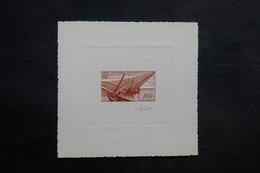 A.E.F. - Épreuve D 'Artiste - Bateaux Signé Gandon - L 34230 - A.E.F. (1936-1958)