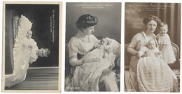 Grande Duchesse Feodora De Saxe  (3 Cartes) - Familles Royales