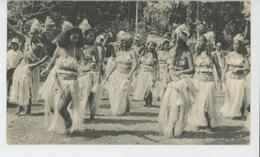 OCÉANIE - TAHITI - Dans Le Sillage De BOUGAINVILLE - TAHITI - Danseuses (1954) - Tahiti