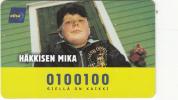 FINLAND(chip) - Hakkisen Mika, HPY Telecard, CN : ELI 000177, Tirage 9000, 06/01, Used - Finland