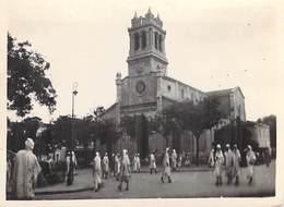 Afrique Algérie MASCARA L'Eglise  - ETAT= Voir Description  ( Cpsm Photo Editions :Photo Africaines EPA )*PRIX FIXE - Other Cities