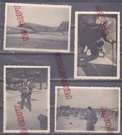 Au Plus Rapide Pau Nieuport Parachutiste Avion Junker 9 Photos * Février-Mars 1950 - Guerre, Militaire