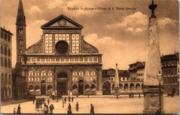 Italy Firenze Piazza e Chiesa di Santa Maria Novella