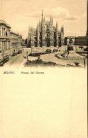 Italy Milano Piazza del Duomo