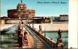 Italy Roma Castello e Ponte San Angelo