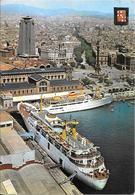 CPA-1975-FERRIES A QUAI-ESPAGNE BARCELONE Port La PAZ-Liaison BALEARES-TBE - Ferries