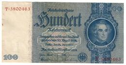 Germany 100 Reichsmark 1935 - [ 4] 1933-1945: Derde Rijk