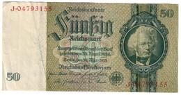 Germany 50 Reichsmark 1945 - [ 4] 1933-1945 : Terzo  Reich