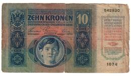 Austria 10 Kronen 1915 - Austria