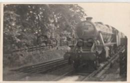 England - Steam Train Engine - Locomotive - Photo 130x80mm - Trains