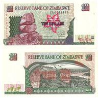 Zimbabue - Zimbabwe 10 Dollars 1997 Pick 6.a UNC - Zimbabwe