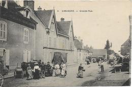 SIMANDRE LES ORMES Grande Rue - France