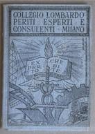 Tessera Collegio Lombardo Periti Esperti E Consulenti - Milano - 1969 - Unclassified