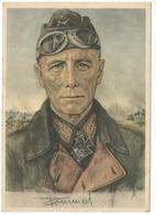 Wehrmacht   - Generalfeldmarschall Erwin Rommel   - Dessin De Willrich   - WWII - Personen