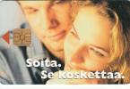 FINLAND - Soita SE Koskettaa, HPY Telecard, CN : KSP 000132, Tirage 8000, 11/97, Used - Finland