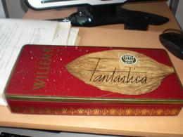 Old Tin Box Willem II 25 Cigars Made In Holland Big Box - Contenitori Di Tabacco (vuoti)