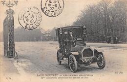 ¤¤  -  PARIS NOUVEAU   -  Les Femmes Chaufeurs  - Mme Decourcelle Conduisant Un Autotax Au Bois      -   ¤¤ - Arrondissement: 16