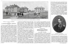 1929 Contre La Crise Du Logement - La Fondation Meinadier à Versailles (Article De Presse) Enfants Jouant... - Publicidad