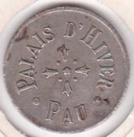 64000. Pyrénées-Atlantiques Pau Jeton Casino Palais D Hiver  - Palais Beaumont - Casino