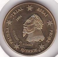 SUEDE SVERIGE. 20 Cents 2004. Specimen. Essai Probe - EURO