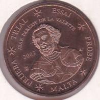 Malte. 2 Cents 2003. Specimen. Essai Probe - EURO
