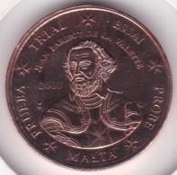 Malte. 5 Cents 2003. Specimen. Essai Probe - EURO