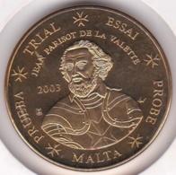 Malte. 50 Cents 2003. Specimen. Essai Probe - EURO