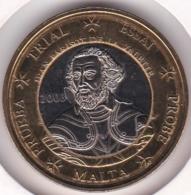 Malte. 1 Euro 2003. Specimen. Essai Probe - EURO