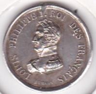Medaille Argent Louis Philippe I Aux Braves Défenseurs De La Liberté 1830, Par Dubois - Royal / Of Nobility