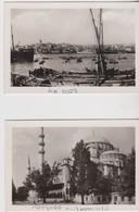 Istanbul, 2 Photo 8,5/5,5cm, Turquie.. - Turquie