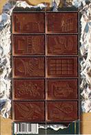 FRANCE   BLOC FEUILLET N° F 4357 LE CHOCOLAT  OBLITERES TTB - Sheetlets