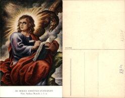 PATER ANDREAS BOSTEELS-JOHANNES EVANGELIST POSTCARD - Malerei & Gemälde