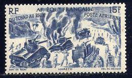 A.O.F. - A46** - DU TCHAD AU RHIN / COMBATS A MARETH - A.E.F. (1936-1958)