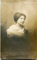 PORTRAIT OF A WOMAN, RETRATO DE UNA MUJER, PORTRAIT D'UNE FEMME. POSTAL POSTALE CPA CIRCA 1900's NON CIRCULE - LILHU - Mujeres