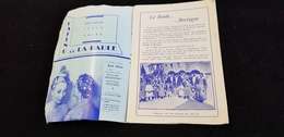 Programme 44 LA BAULE Le Pardon Cercle Celtique AR VRO WENN Paludiers Saillé Défile Dryades PLUHERLIN BRETAGNE FOLKLORE - Programs