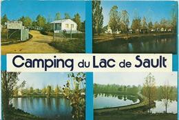 ~  JP  ~  03  ~     CAMPING  DU LAC  De   SAULT   ~     PREMILHAT    ~ - Autres Communes