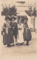 Traditional Fashion Unknown Location Europe Germany? Austria?, C1920s Vintage Real Photo Postcard - Fashion