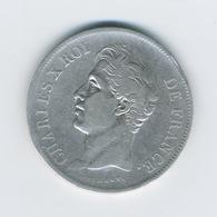 5 Francs CHARLES X, 2e TYPE MA - J. 5 Francs