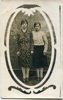 RETRATOS DE DOS MUJERES, PORTRAITS DE DEUX FEMMES, PORTRAITS TWO WOMEN POSTAL POSTALE CPA CIRCA 1920 NON CIRCULE - LILHU - Mujeres