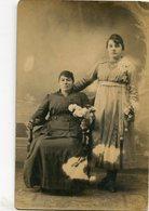 RETRATOS DE DOS MUJERES, PORTRAITS DE DEUX FEMMES, PORTRAITS TWO WOMEN POSTAL POSTALE CPA CIRCA 1900 NON CIRCULE - LILHU - Mujeres