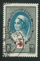 FRANCE: Obl., N° YT 422, Noir Et Turquoise, TB - Oblitérés