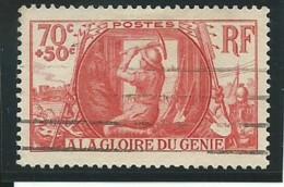 FRANCE: Obl., N° YT 423, Rouge, TB - France