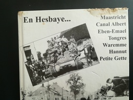 LIVRE EN ÉTAT D USAGE : EN HESBAYE MAASTRICHT CANAL ALBERT TONGRES WAREMME HANNUT BELGIQUE LIÈGE GUERRE 1939 - 1945 - Culture